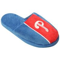 Philadelphia Phillies Youth Big Logo Stripe Slippers