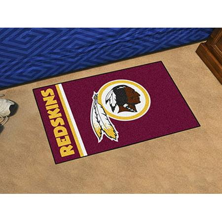 NFL Washington Redskins Starter Mat - Redskins Room Decor