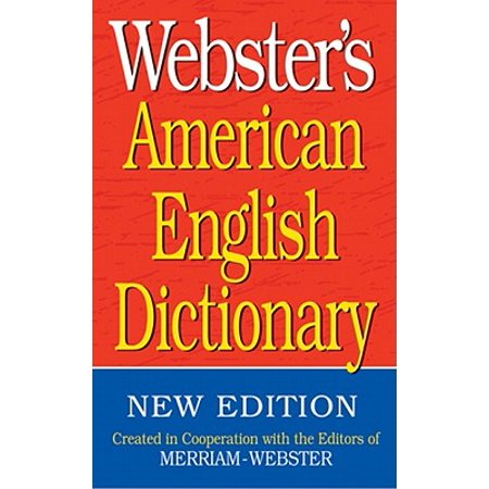 Webster's American English Dictionary
