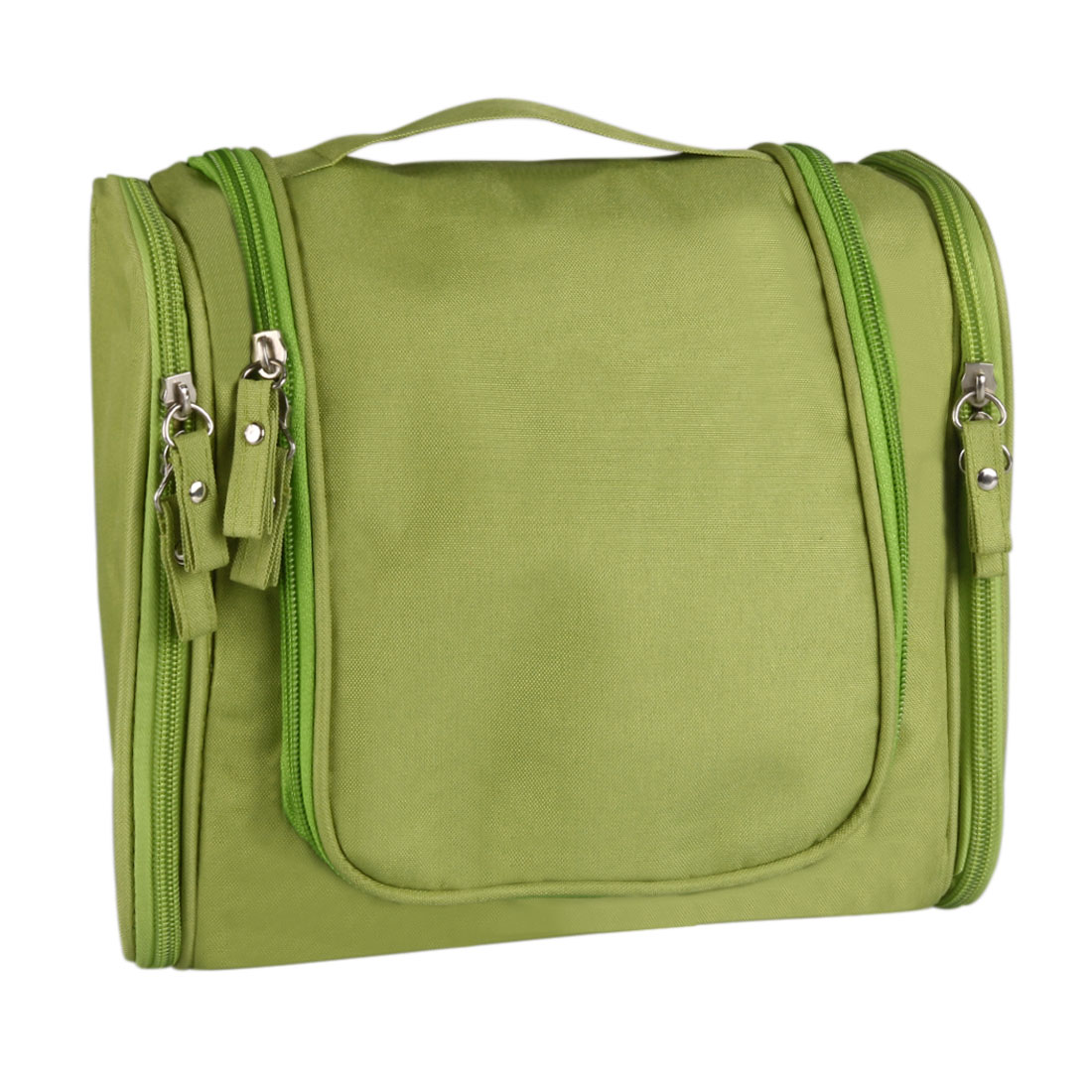 Travel Makeup Cosmetic Toiletry Wash Case Organizer Storage Hanging Bag Green
