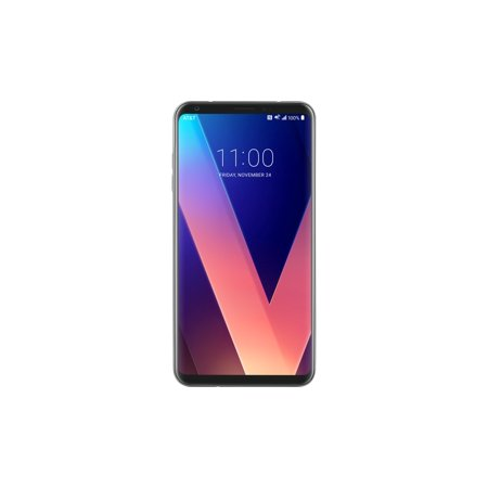 Refurbished LG V30 H931 64GB AT&T GSM GLOBAL Unlocked 4G LTE Android Phone W/ Dual 16MP/13MP Camera - Cloud Silver
