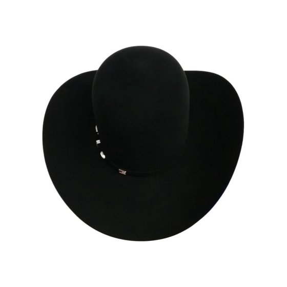 96acb8d0e11ce American Hat - American Cowboy Hat Mens Felt 7X Open Crown 4 1 4 ...