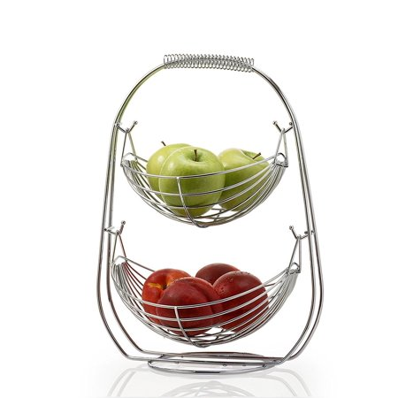 2 Tier Fruit Baskets fruit basket - Fruits Basket Fruits
