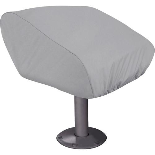 Classic Accessories Hurricane Boat Pedestal Folded Seat Cover, Grey