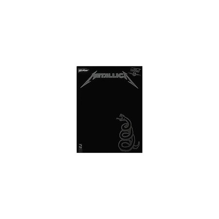 - Hal Leonard Metallica The Black Album Guitar Tab Songbook