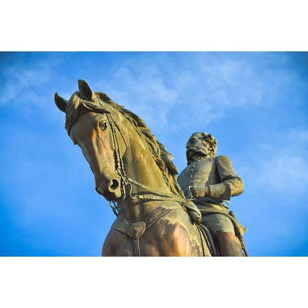 LAMINATED POSTER Columbia Horse Wade Hampton Sc Statue Bronze Poster Print 24 x 36](Express Columbia Sc)
