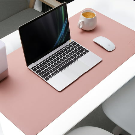 Remarkable Large Mouse Desk Pad Atailorbird 31 5 X 15 7 X 0 08 Dual Sided Mouse Pad Organizer Waterproof Pu Leather Protective Laptop Mat Writing Gaming Home Remodeling Inspirations Gresiscottssportslandcom