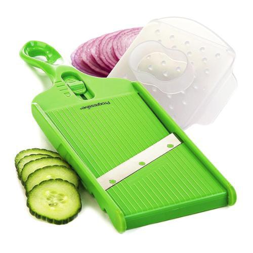 Prepworks Progressive Adjustable Slicer Kitchen Hand Mandolin Blade Vegetables
