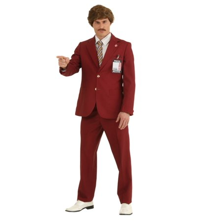 Authentic Ron Burgundy Suit - image 1 of 1
