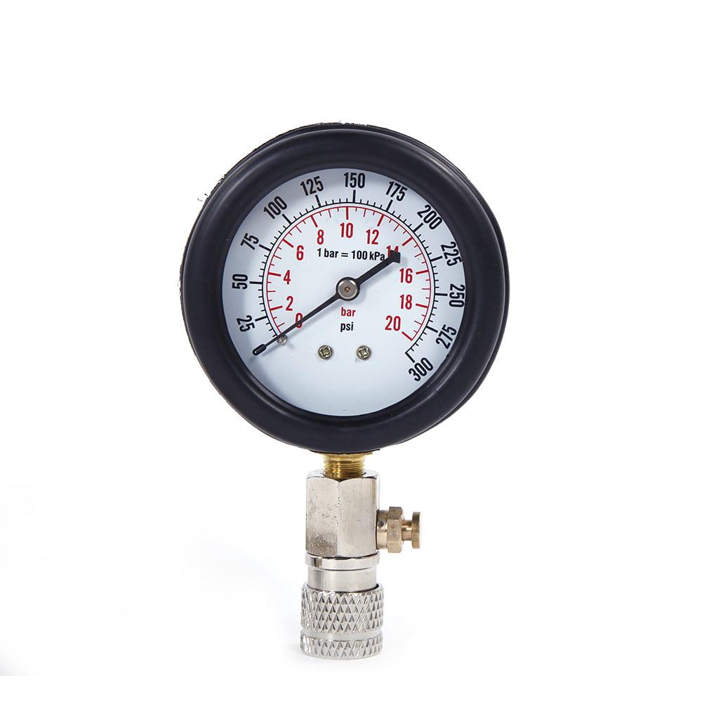 Zimtown Cylinder Compression Tester Kit,Petrol Gas Engine Pressure Gauge for Automotive Diagnostic,0-300psi - image 2 of 11