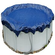 winter pool cover above ground 21 ft round arctic armor 15 yr warranty w/ clips
