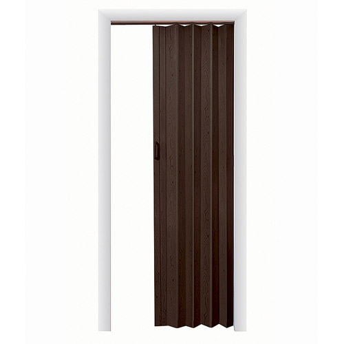 "HomeStyles Plaza Vinyl Accordion Door, 36"" x 80"", Espresso"
