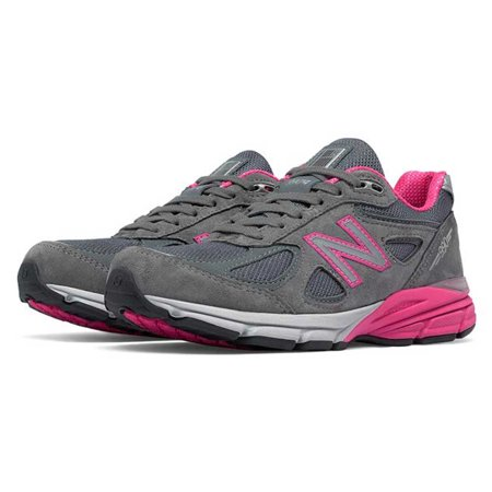 half off abb13 4102f New Balance 990v4 Women's Everyday Running Shoes, Grey / Pink - W990GP4