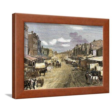 Saint Louis (Missouri), 1850. Framed Print Wall Art By Tarker](Party City Saint Louis Missouri)