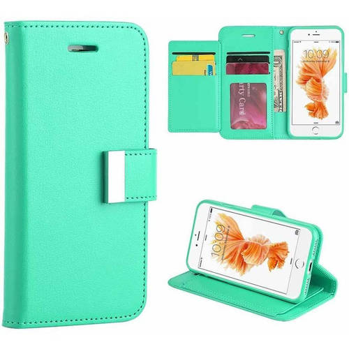 MUNDAZE Flip Cover Wallet Case for Apple iPhone 7 8