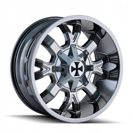 8-165.1, 8-170 PCD Dirty Chrome Wheel - image 1 of 1