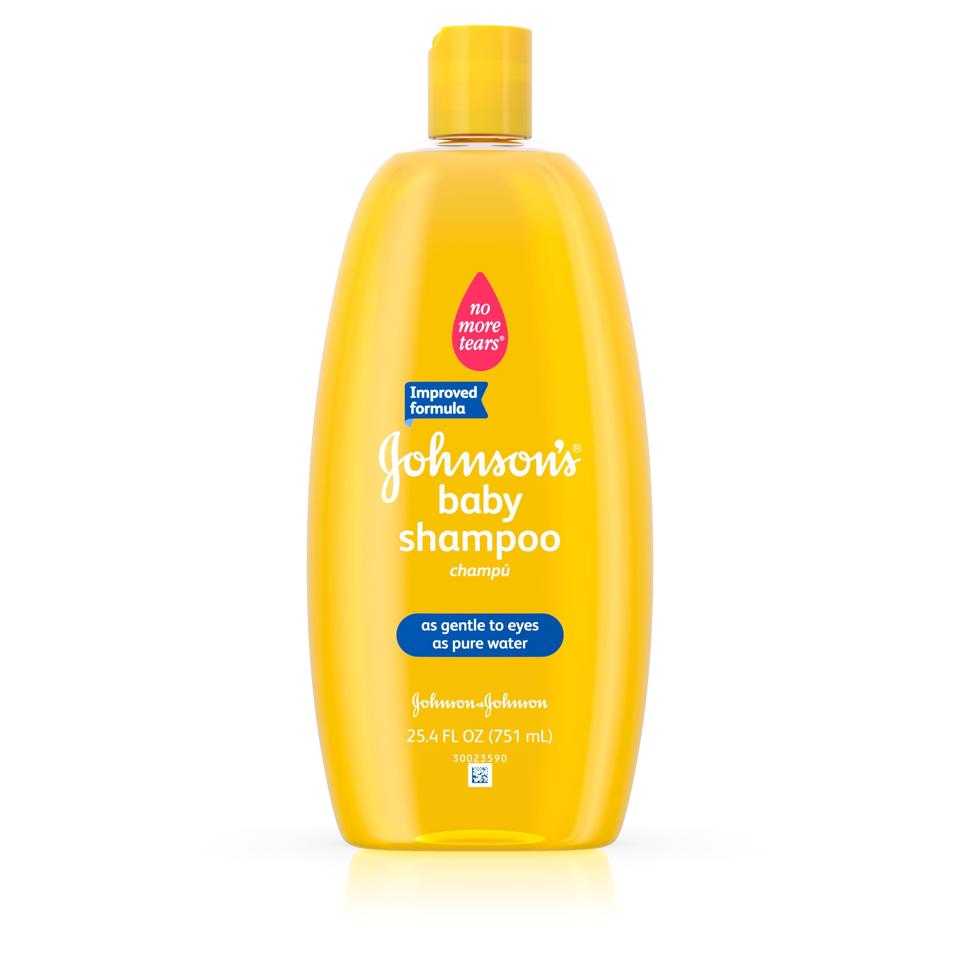 Johnson's Baby Shampoo For Soft Hair, 25.4 Fl. Oz.
