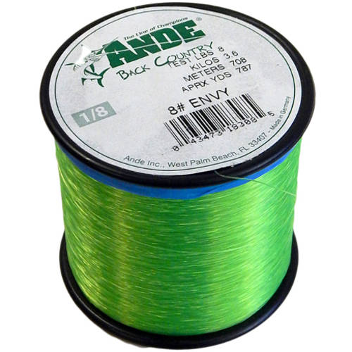 Ande Monofilament Envy Green, 12# Test