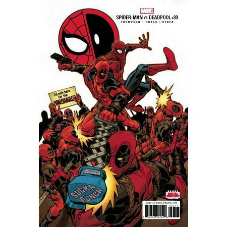 Marvel Spider-Man Deadpool #33 (Deadpool Spiderman Slash)