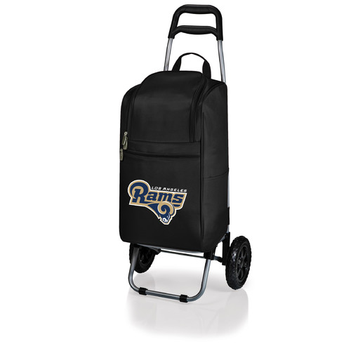 Picnic Time Cart Cooler, Black Atlanta Falcons Digital Print
