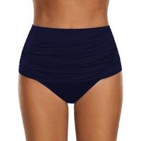 Women High Waist Solid Underwear