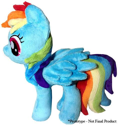 Image of My Little Pony Friendship is Magic Rainbow Dash Plush