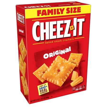 Betty Crocker Sauce - Cheez-It Baked Original Cheese Crackers Family Size 21 oz
