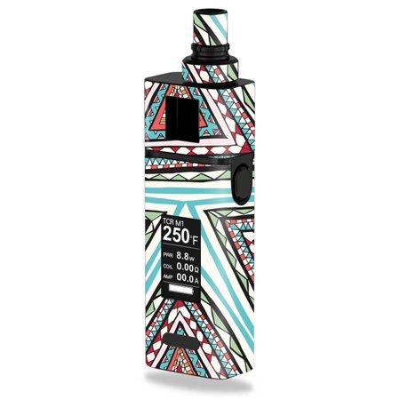 Skin Decal Wrap For Joyetech Cuboid Mini 80W Aztec Pyramids
