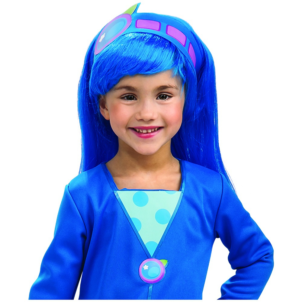 Blueberry Muffin Wig Child Costume Accessory