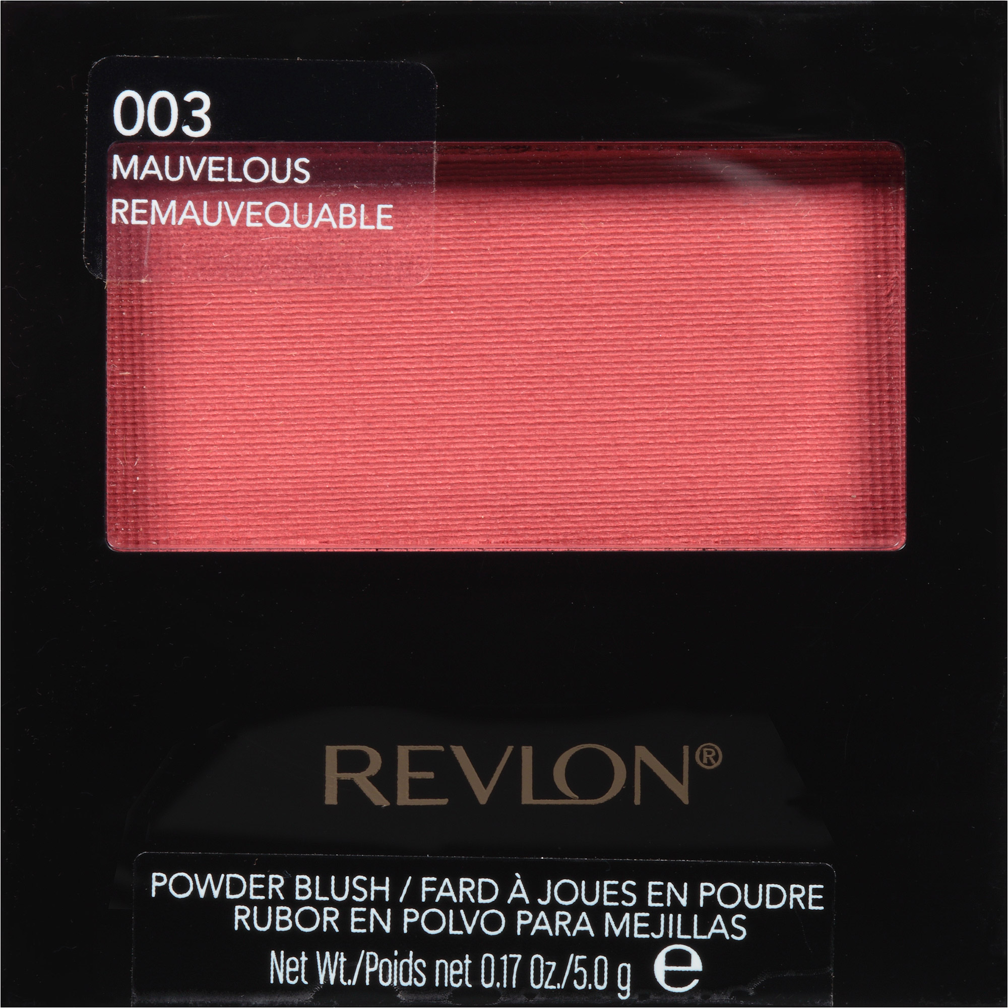 Revlon Powder Blush, 003 Mauvelous, 0.17 oz