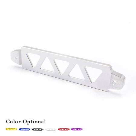 Colorful Billet Aluminum Battery Tie Down Bar Stay Bracket Universal Triangle Hole for Auto Car Replacement - Billet Aluminum Lower Tie Bar