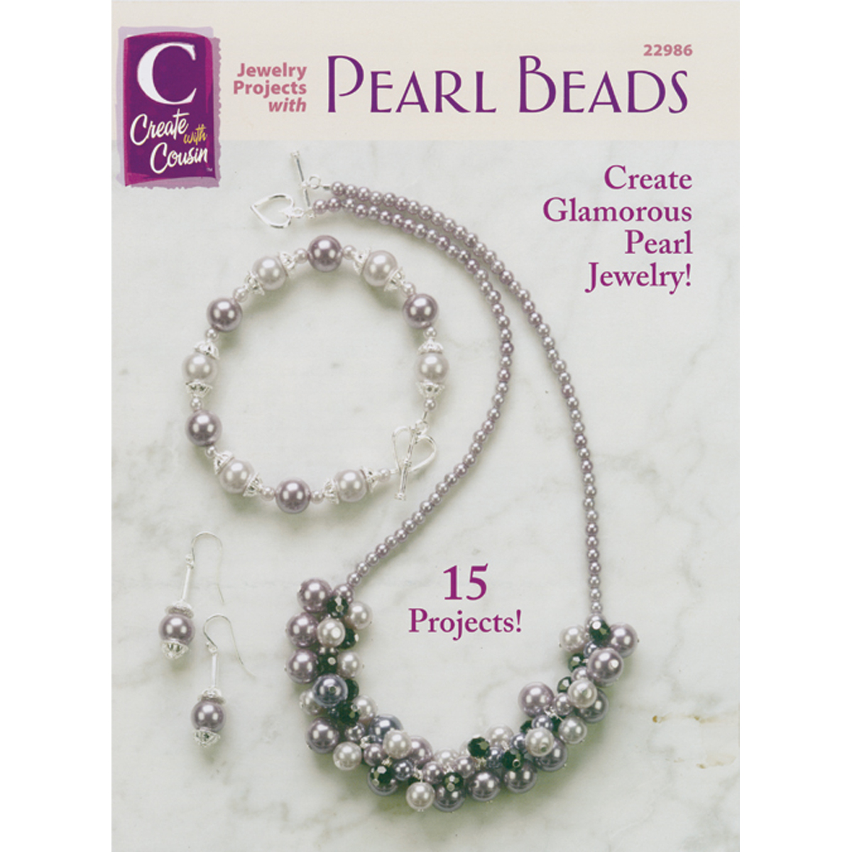 Cousin Corporation Books: Jewelry Projects with Pearl Beads