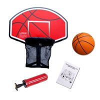 Exacme Trampoline Basketball Hoop with Orange Ball and Attachment for Straight Net Poles BH04OG