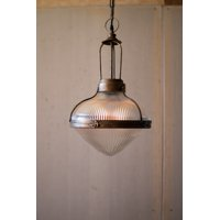 GwG Outlet Metal And Glass Dome Pendant Light CLL2352