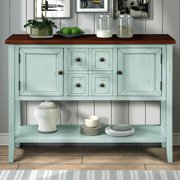 Segmart Console Table with 4 Storage Drawers for Entryway