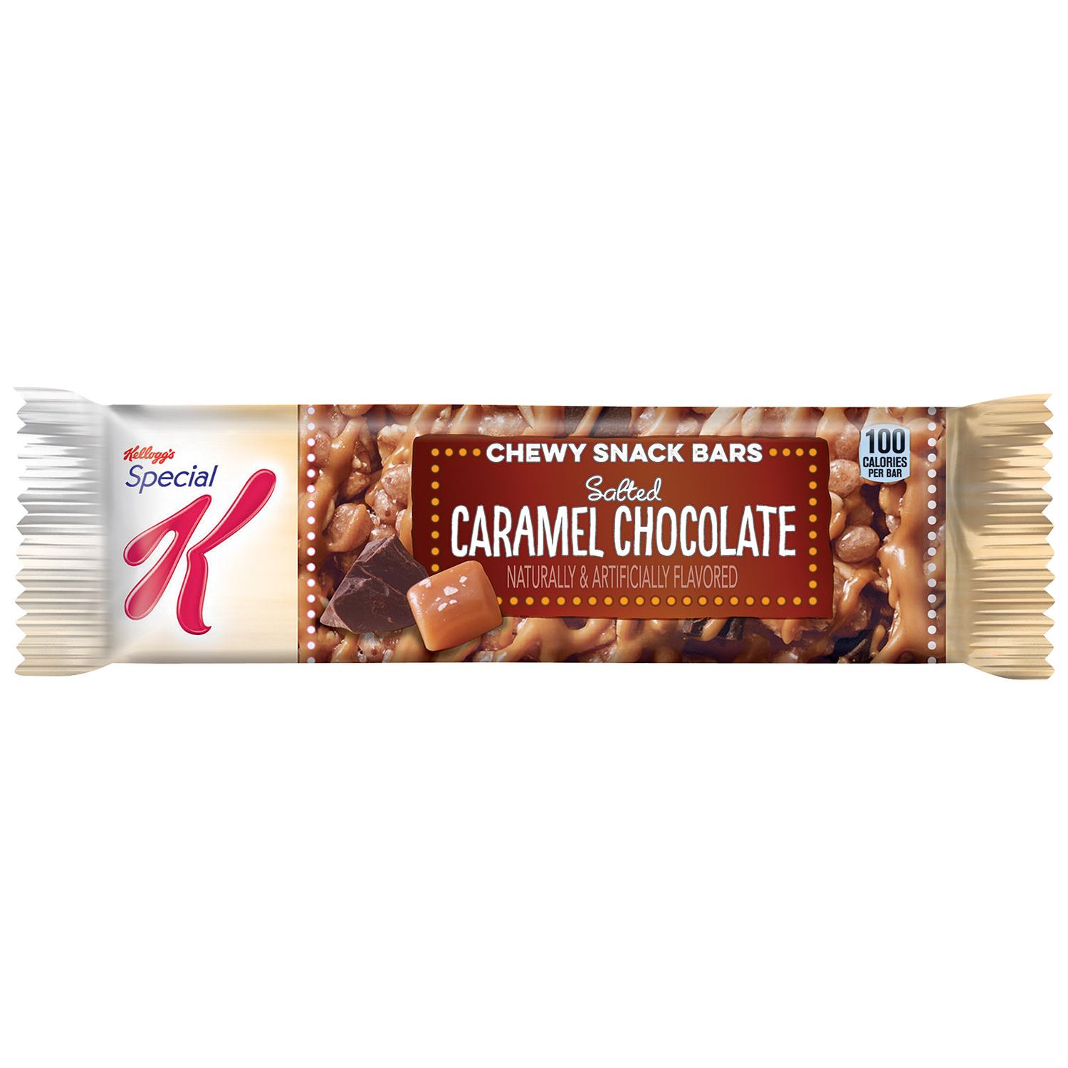 Kellogg's® Special K® Salted Caramel Chocolate Chewy Snack Bar 0.88 oz. Package