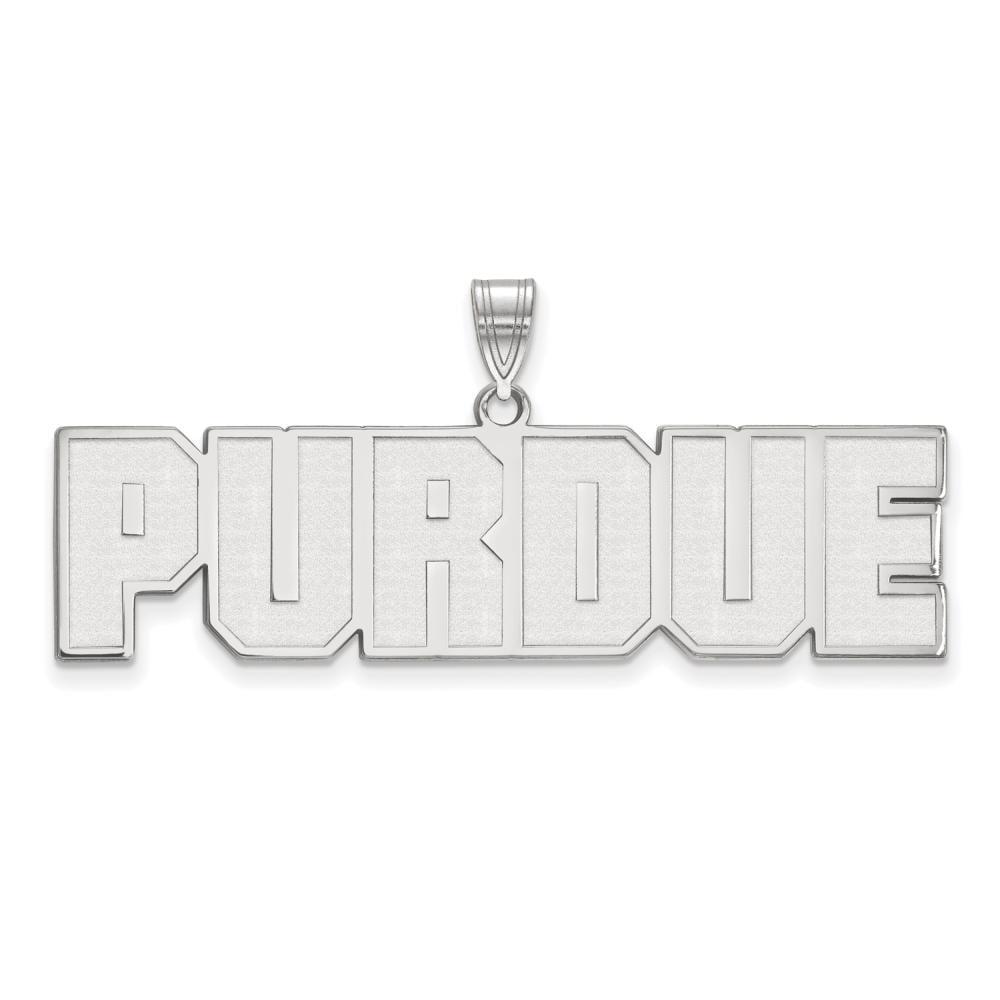 Purdue Large (3/4 Inch) Pendant (14k White Gold)