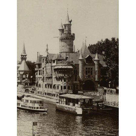 Paris, 1900 World Exhibition, Entrance to the Old Paris Print Wall