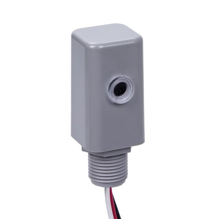 Intermatic EK4136S Electronic Photocontrol Sensor 120 - 277 Volt AC Gray