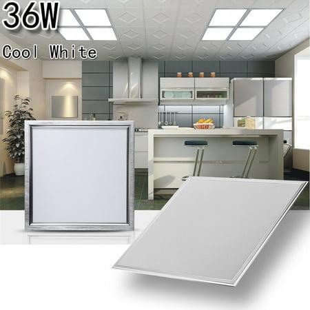 12w Cool White Led Panel Lampe Deckenleuchte Leuchte Walmart Com