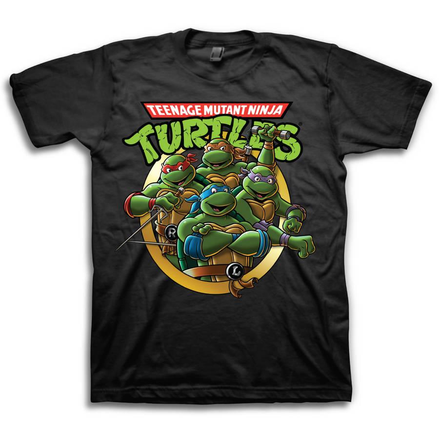 Teenage Mutant Ninja Turtles Group Men's Short Sleeve T-shirt