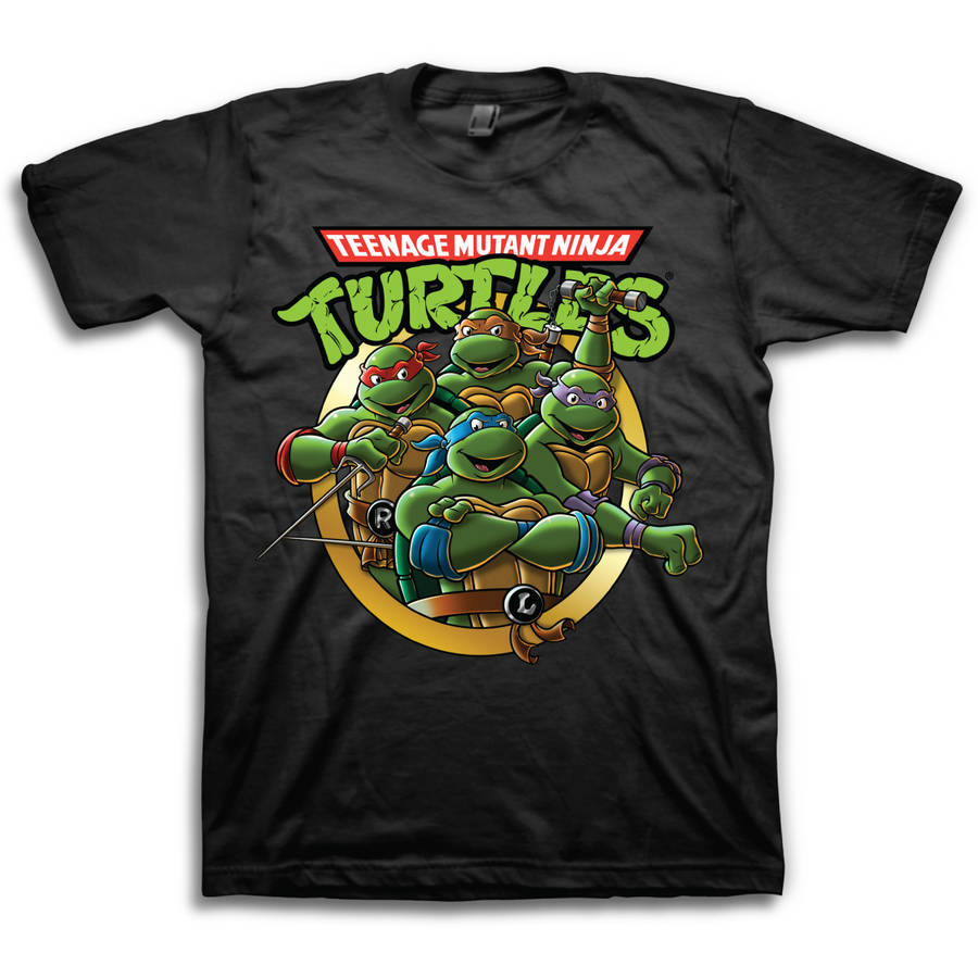 Teenage Mutant Ninja Turtles Group Men's Short Sleeve T-shirt
