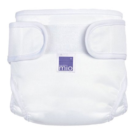 Miosoft Cloth Diaper Cover - White - Small Small Cloth Diaper