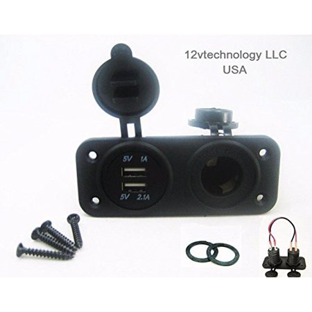 12vtechnology brand dual usb charger and socket blue panel mount sea 12vtechnology brand dual usb charger and socket blue panel mount sea marine 12 volt motorcycle boat publicscrutiny Choice Image