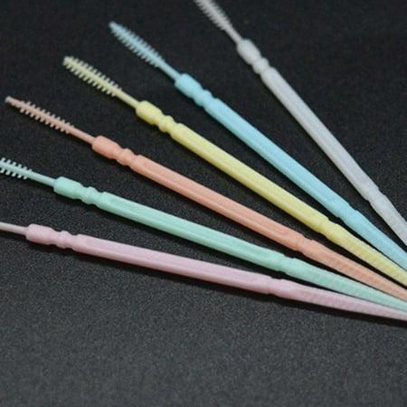 200PCS/SET Double Head Tooth Floss Dental Floss Plastic Interdental Toothpick - image 5 of 5