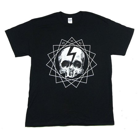 Marilyn Manson T-Shirt Fated Skull Faithful Fatal 666 T-Shirt (S) - Halloween Marilyn Manson Official