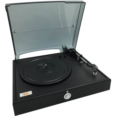 QFX Turn-80 3-Speed Vinyl Turnable