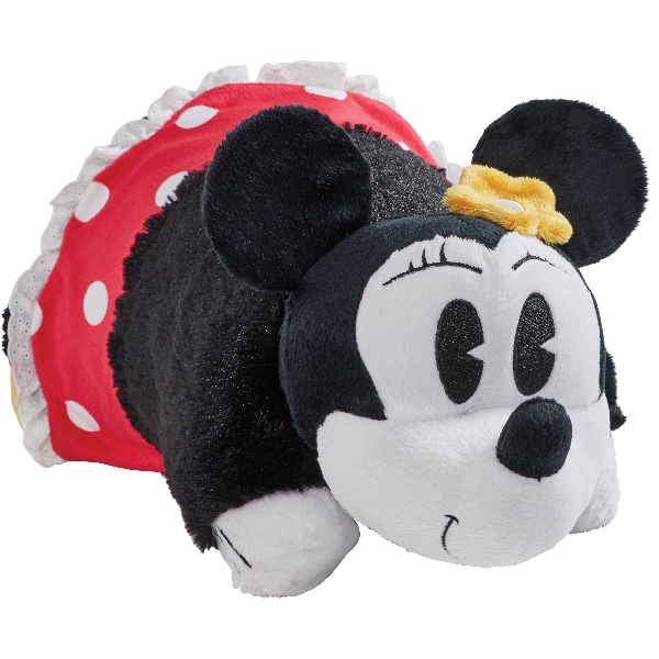 "Pillow Pets 16"" Disney Retro Minnie Mouse Stuffed Animal Plush Toy Pillow Pet"