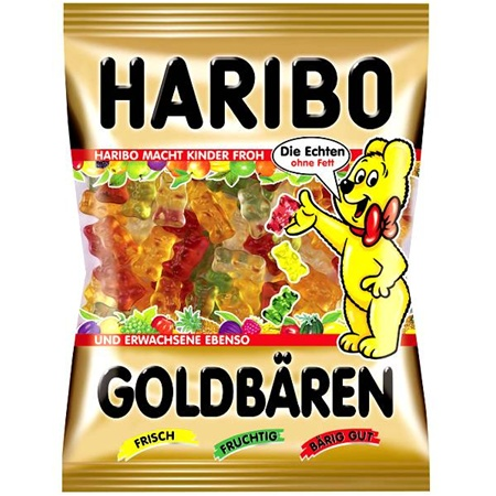 Haribo Gold Bears ( Made in Germany ) - 200 g