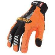 Orange Universal Extra Large Synthetic Leather Safety Gloves
